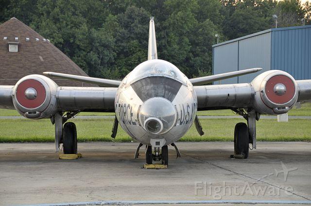 Martin WB-57 (52-1446) - Seen at KMTN on 8/15/2009.  Part of the Glenn L. Martin Museum.