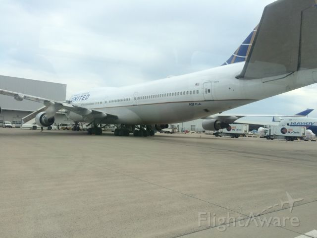 Boeing 747-400 — - Military charter taken on July 21 2016