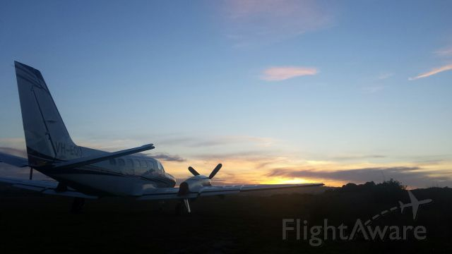 Cessna Conquest 2 (VH-EQU) - Barnbougle Dunes, TAS, Australia
