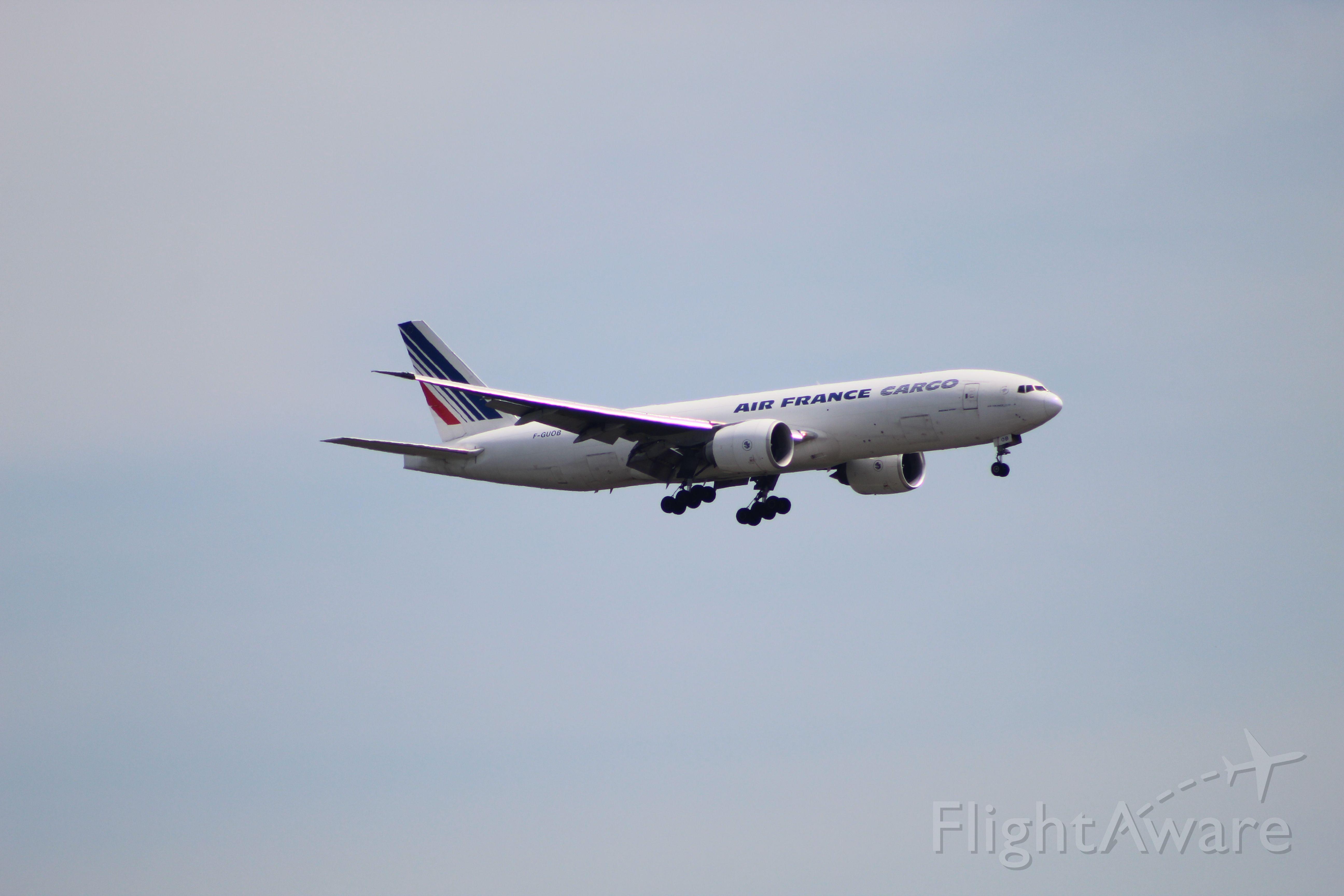 BOEING 777-200LR (F-GUOB) - AFR6738 from Paris (CDG) on 7/14/20. Landing on runway 28C.
