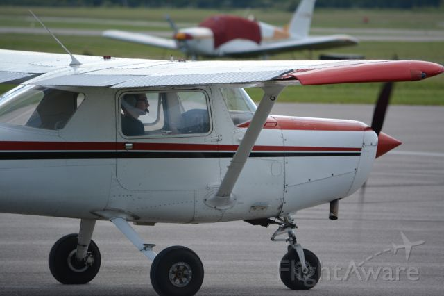 Cessna 152 (C-GRPQ) - heading out for my first solo<br />summer 2013, photo credits A Leslie