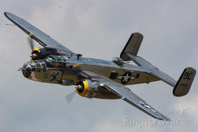 "North American TB-25 Mitchell (N3774) - Yankee Air Museum's Douglas B-25 Mitchell ""Yankee Warrior"" at Thunder Over Michigan 2019"