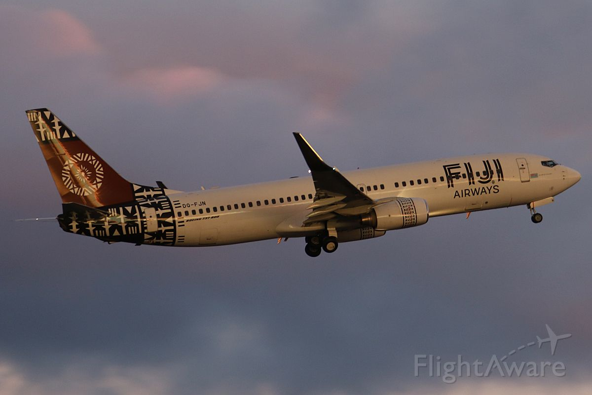 Boeing 737-800 (DQ-FJN) - on 11 August 2109