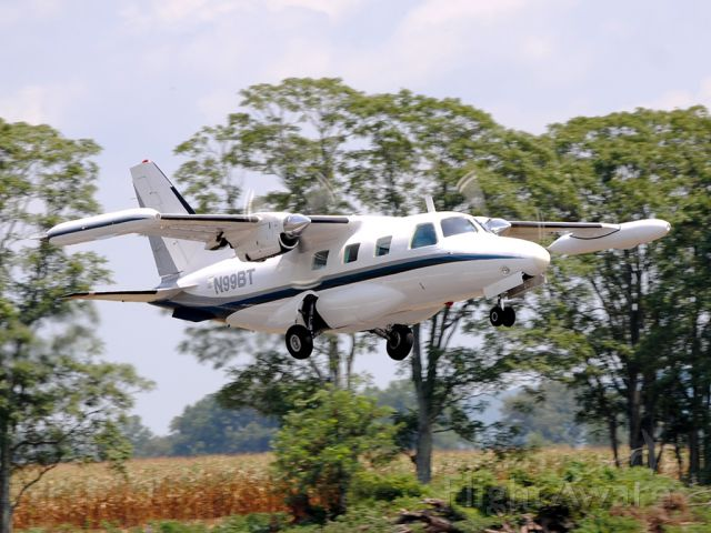 Mitsubishi MU-2 (N99BT) - I have always thought the MU2 just exuded speed.  I do not care what phase of flight it is in, it always looks like a rocket ship!