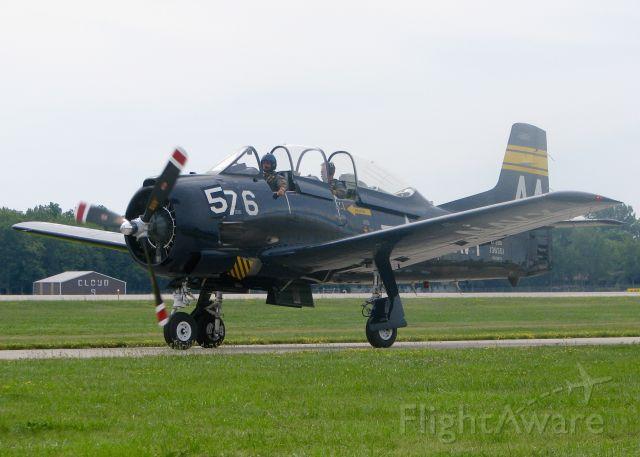 North American Trojan (N228TS) - At AirVenture.