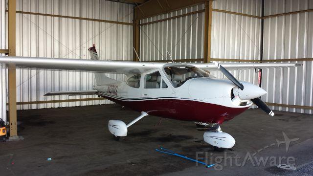 Cessna Cardinal (N370S) - In the hangar at Front Range KFTG
