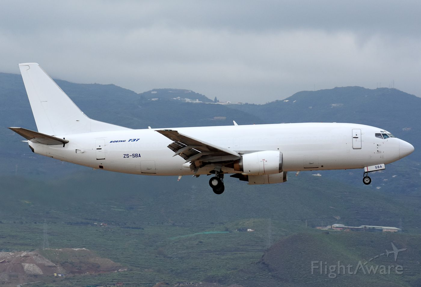 BOEING 737-300 (ZS-SBA)