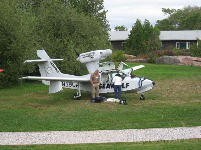 LAKE Turbo Seafury (N59CA)