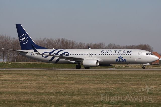 Boeing 737-800 (PH-BXO) - KLM Skyteam at Schiphol airport in Amsterdam