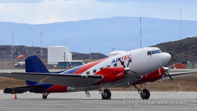 Douglas DC-3 (turbine) (N131PR) - Spotted in Iqaluit, Nunavut on SEP.6.2019
