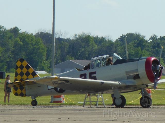 North American T-6 Texan (N43826) - Me, just before take-off AT-6D NT Texan @ Warbird Expo 2016