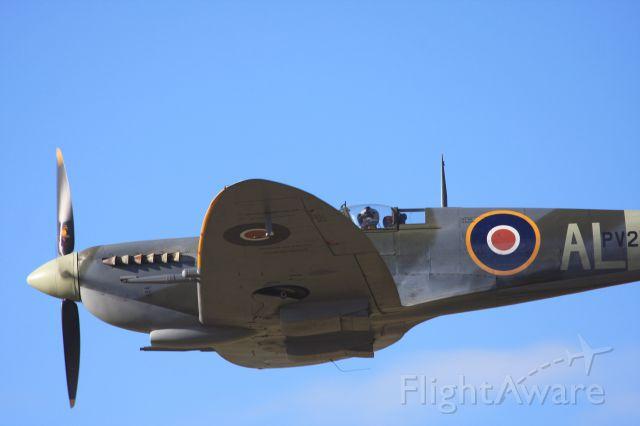 ZK-SPI — - Spitfire LF Mk.IXc PV270 (ZK-SPI) over Wanaka NZ