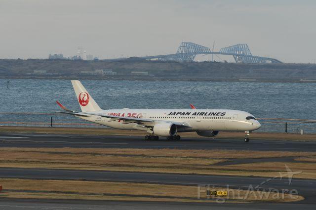 Airbus A350-900 (JA01XJ) - 22.Feb.2020br /Takeoff from RWY14-Lbr /at Terminal-2