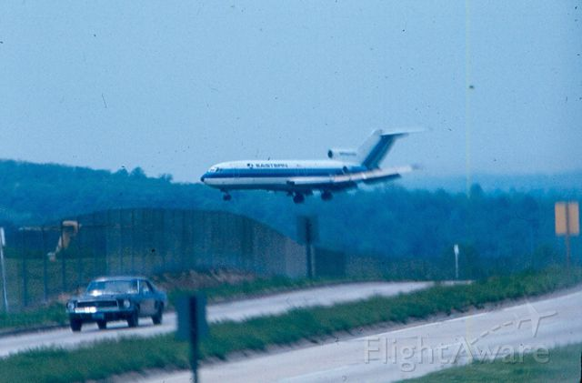 Boeing 727-100 — - Boeing 727 - Eastern airlines - About to touch down on runway 15R - KBWI
