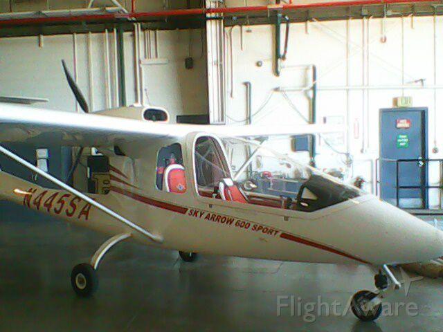 Experimental <100kts (N445SA) - Sky Arrow 600