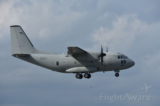 ALENIA Spartan (C-27J) (N1931) - May 2020, 1931 C-27J when the Airlines stop flying, you send in the Air Force !!