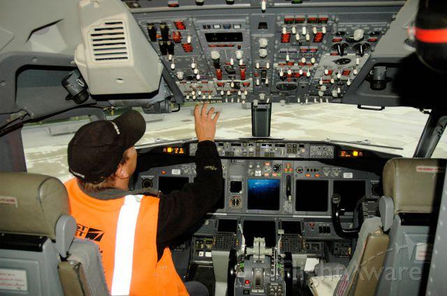 — — - Post- flight instrument maintenance check