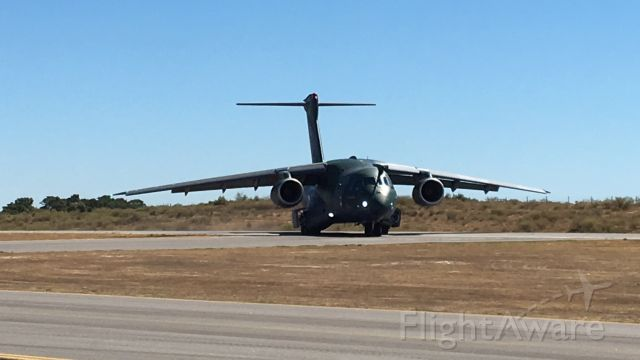 EMBRAER KC-390 (PT-ZNJ) - LPCB aerodrome in Portuguese Air Force Aniversary, 2 of July 2016