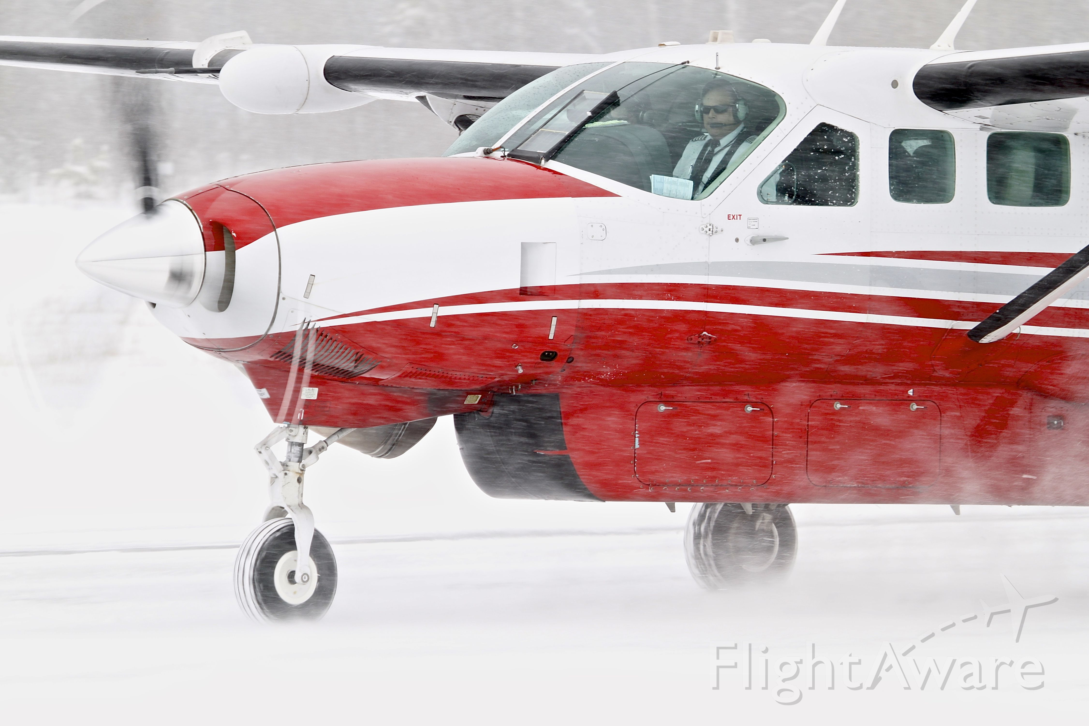Cessna Caravan (N750Z) - Springtime operations in the Upper Peninsula.