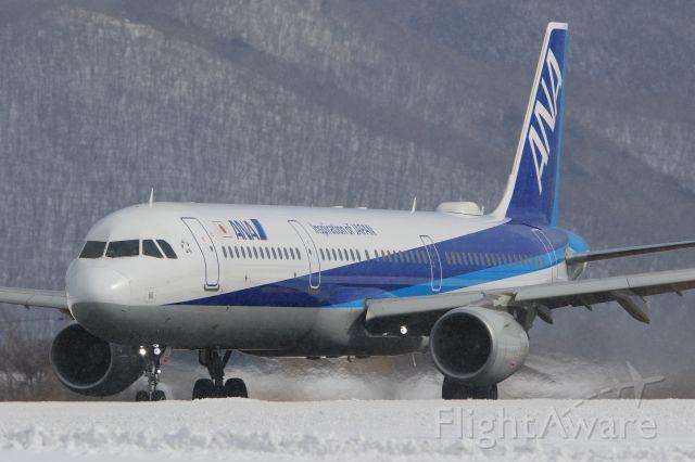 Airbus A321 (JA113A) - February 10th 2019:HKD-HND.