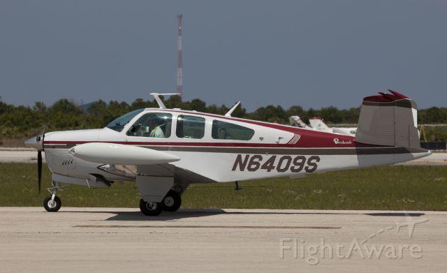 Beechcraft 35 Bonanza (N6409S) - A very nice v-tail Bonanza!