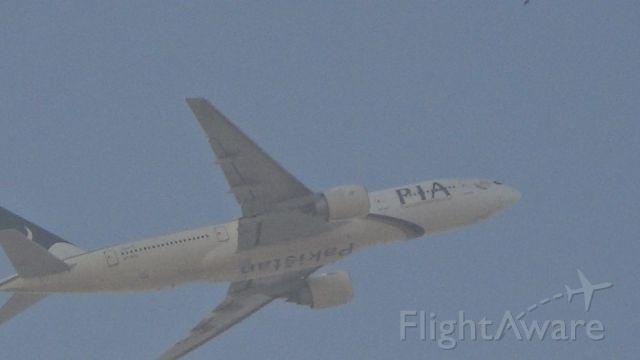 Boeing 777-200 (AP-BGL) - One of the three original PIA 777-240ER
