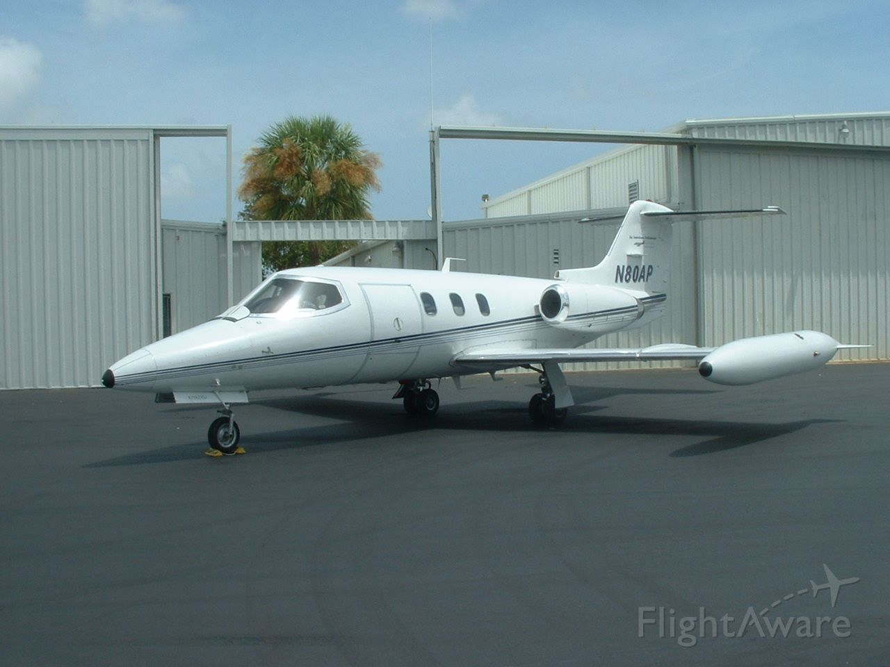 Learjet 24 (N80AP) - Air Ambulance Professionals