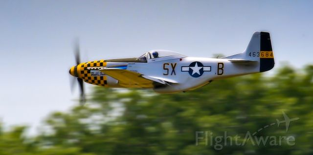 "North American P-51 Mustang (N7TF) - 1944 North American P-51D Mustang N7TF, C/N: 44-73856, also known as ""Double Trouble two"" with 463684 on the tail"