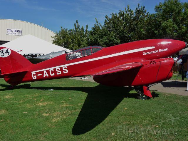 De Havilland DH-88 Comet Replica (G-ACSS)