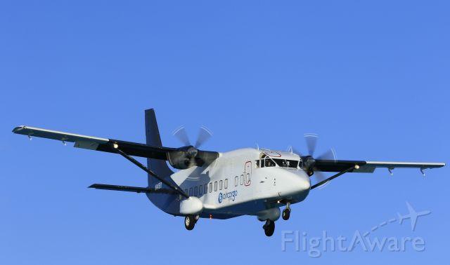 Short SD3-60 (N4498Y) - The bread bird approaching St Maarten on a early morning flight.