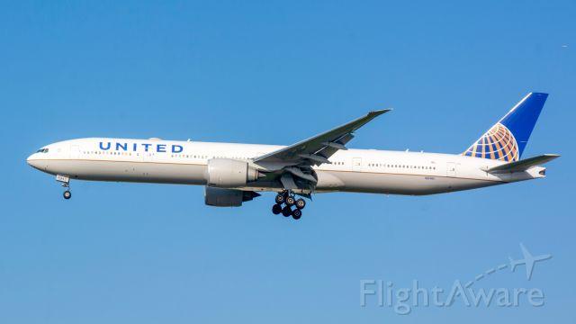 BOEING 777-300ER (N2136U) - B77W landing in TLV on runway 21