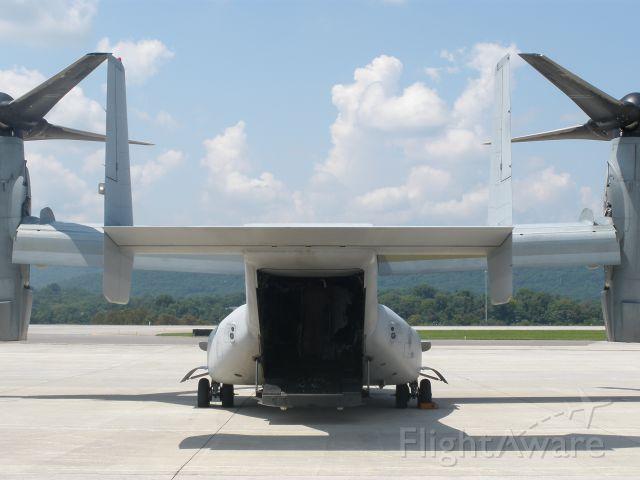 Bell V-22 Osprey (N5944) - A lot bigger than it looks.