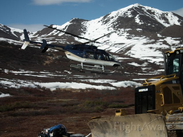 N308MH — - South of the Denali Highway, remote camp support, May 2011