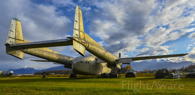 FAIRCHILD (1) Flying Boxcar (N1394N) - Planespotting......