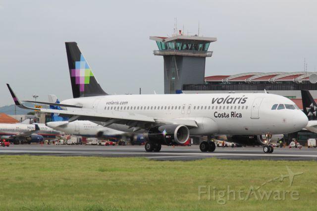 Airbus A320 (N526VL) - Vuelo inaugural de Volaris a Costa Rica