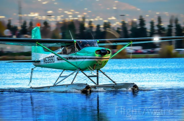 Cessna Skyhawk (N5399D) - Anchorage, Alaska