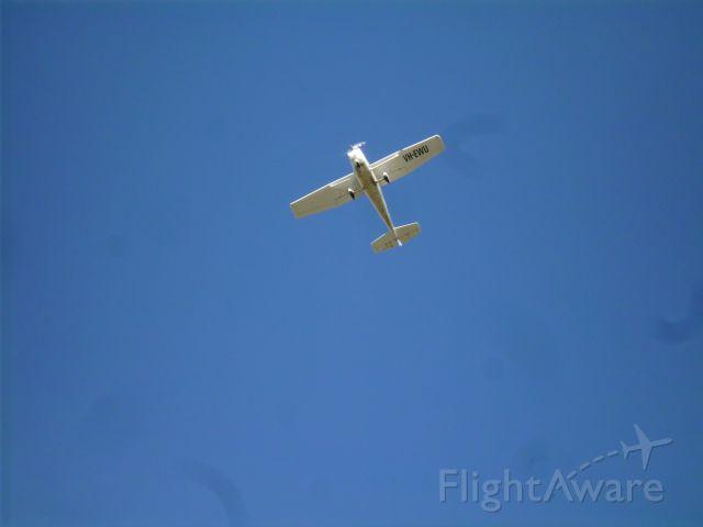 Cessna Skyhawk (VH-EWU) - taking off from Moorabbin on runway 35L