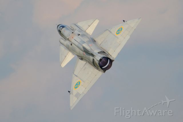 Saab Viggen (SE-DXN) - Airpower 2016