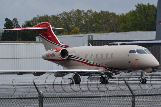 Bombardier Challenger 300 (N800BD) - KONFARA COMPANY LLC at Wilson Air ramp - 4/7/18