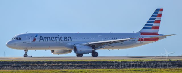 Airbus A321 (N568UW) - Shot with a Nikon D3200 w/ Nikkor 70-300mm<br />Best viewed in Full Size