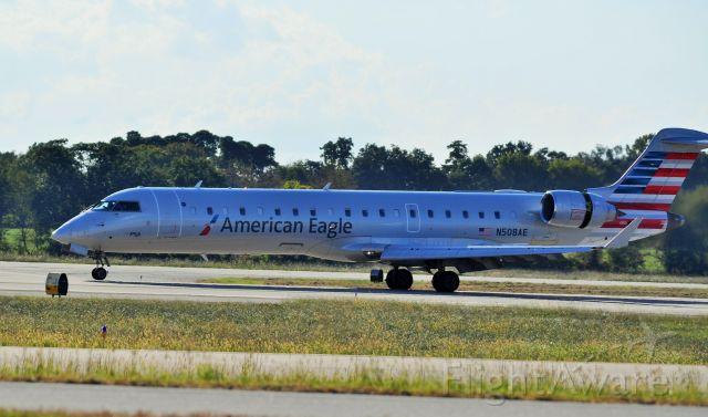 Canadair Regional Jet CRJ-700 (N508AE) - nice shot at xna