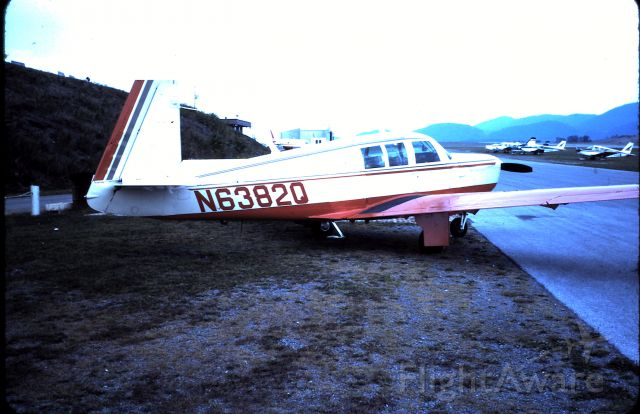 N6382Q — - Joe Browns first Mooney...