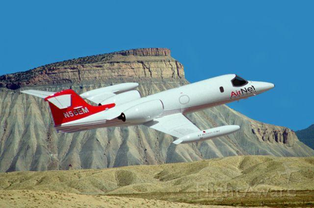 Learjet 35 (N56EM)