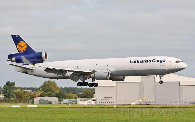 Boeing MD-11 (D-ALCK) - lufthansa cargo md-11f d-alck landing at shannon from atlanta via jfk 27/8/18.