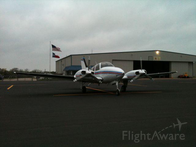 Beechcraft 55 Baron (N434MC) - Photo taken in March 2011.