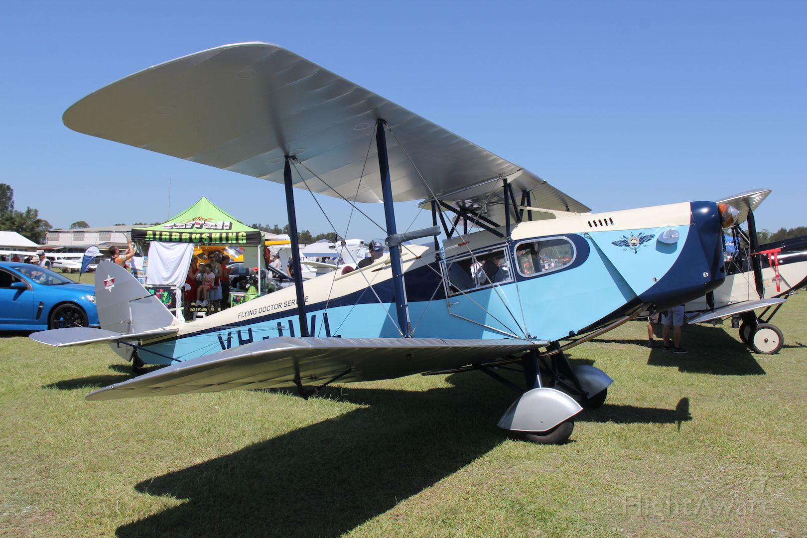 VH-UVL — - de Havilland DH-83 Fox Moth<br />Manufactured in 1935, UK<br />Maitland, NSW, Australia<br />Photo: 28.01.2017