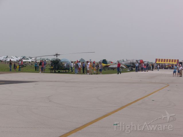 N55ER — - Cavanaugh Flight Museums Bell TH-13T along with other aircraft at the 2008 Corsicana Air Show.