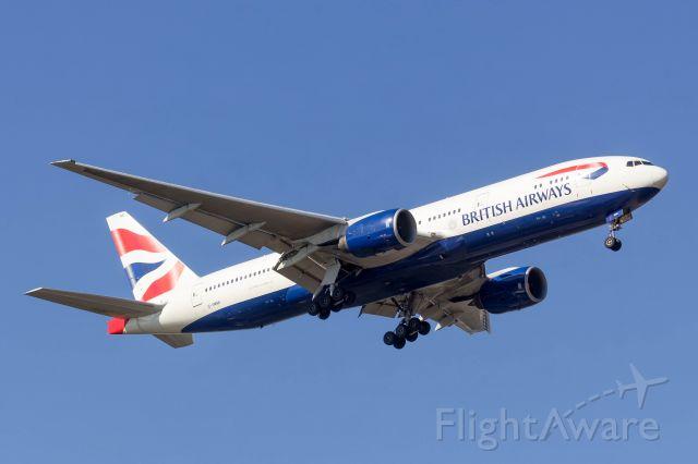 Boeing 777-200 (G-YMMI) - Speedbird 195
