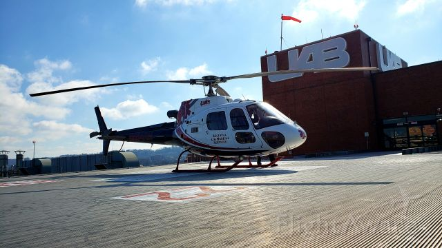 Eurocopter AS-350 AStar (N464RM) - Regional Air Medical Services Atop UAB Hospital