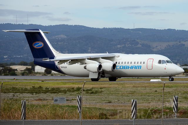 VH-NJH — - On taxiway heading for take-off on runway 05. Thursday, 8th May 2014.